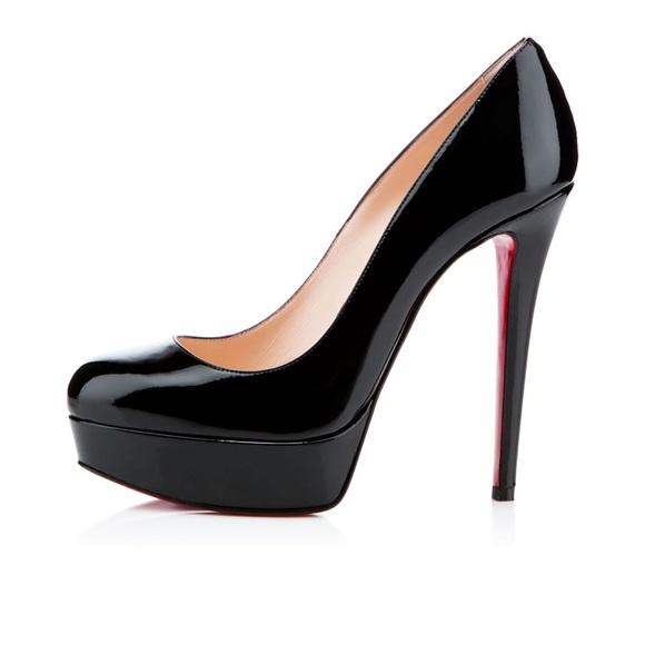 "pretty nice 1d005 59f71 Christian Louboutin ""Bianca"" black patent leather"